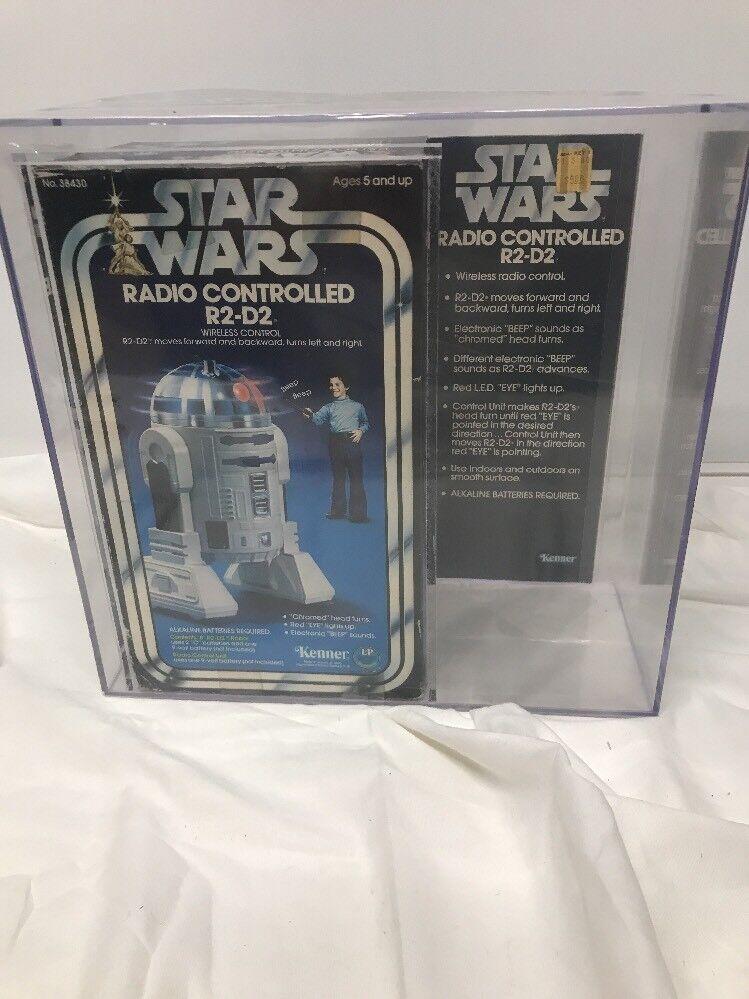 1979 Vintage Kenner Star Wars Radio Remote Control R2-D2 - SEALED AFA 75