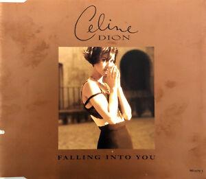 Celine-Dion-Maxi-CD-Falling-Into-You-UK-EX-EX