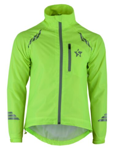Unisex Cycling Jacket Waterproof High Visibility Windstopper Bicycle Jacket Top