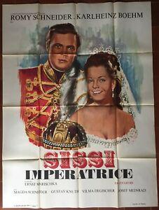 Affiche-SISSI-IMPERATRICE-Ernst-Marischka-ROMY-SCHNEIDER-Karlheinz-Bohm-120x160