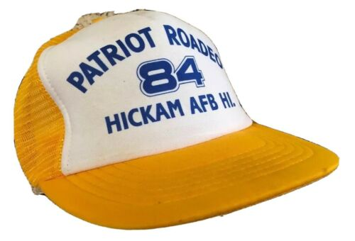 Patriot Roadeo 84 Hickham AFB Hawaii Mesh Foam Hat