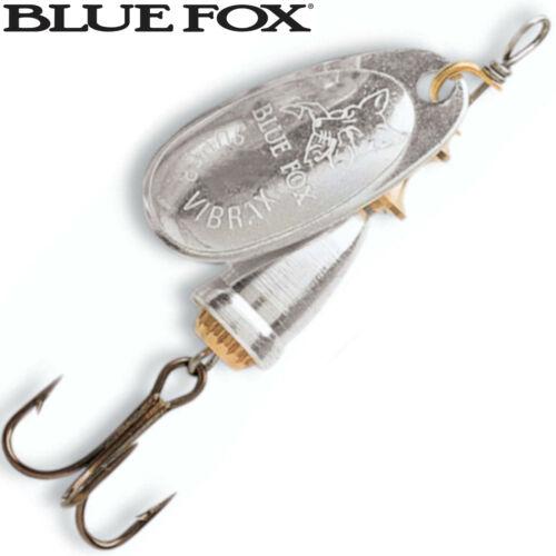 Raubfischköder Kunstköder Spinnköder Blue Fox Vibrax Spinner silberfarben
