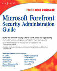 Microsoft Forefront Security Administration Guide by Jesse Varsalone (Paperback, 2008)
