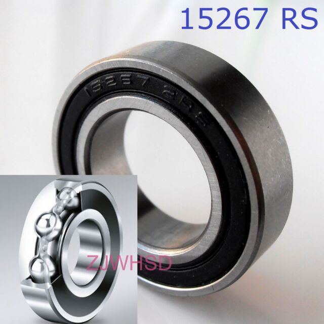 10x MR105-2RS Rubber Sealed Ball Bearing Miniature Bearing 5 x 10 x 4mm Blue TCA