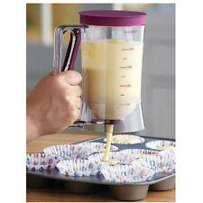 Chef Buddy Cupcake Pancake Crepe Batter Dispenser Muffin Helper Baking DIY Tool