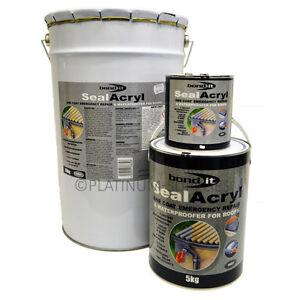Sealacryl Acrylic Waterproofing Roof Coating Membrane 1kg