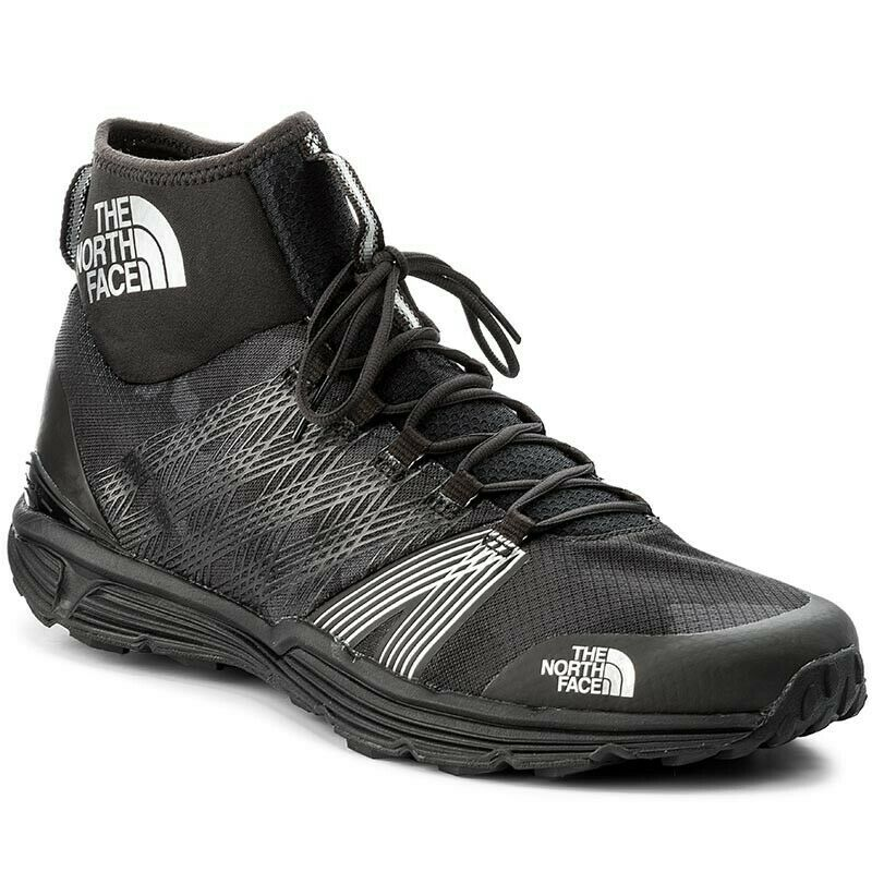 North Face Litewave Ampere II HC Camo Mens Athletic Trainers Boots - Size 13 UK