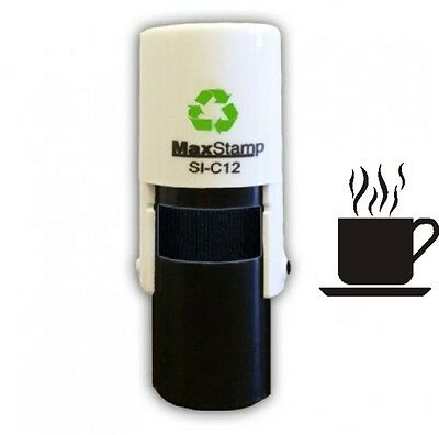 Coffee Cup Loyalty Card Self Inking Stamp