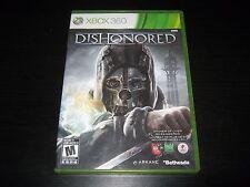 Dishonored (Microsoft Xbox 360, 2012) DISC IS MINT
