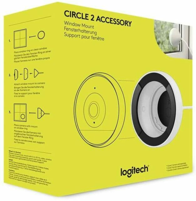 Logitech Circle 2 Fensterhalterung  ***Neu***