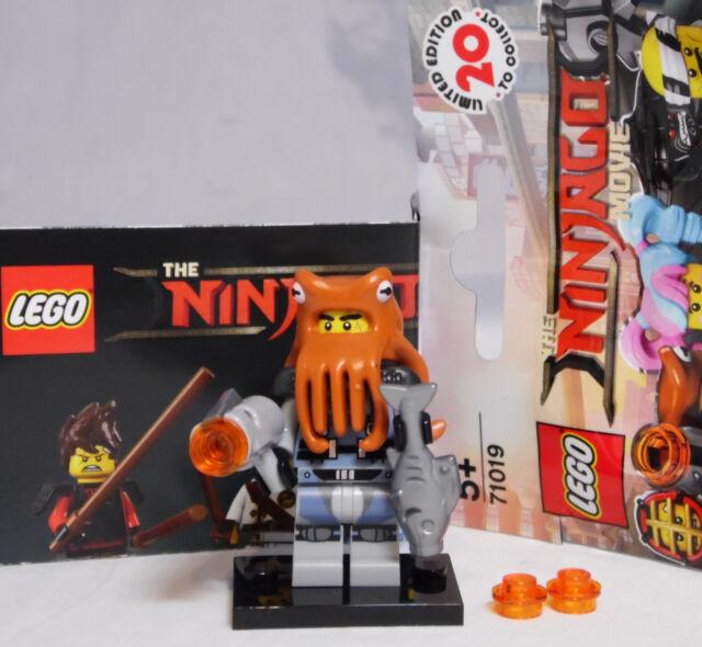 Lego shark army octopus ninjago movie unopened new factory sealed