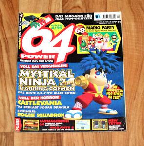 1999 Nintendo 64 Magazine Mystical Ninja Starring Goemon Ogre Battle