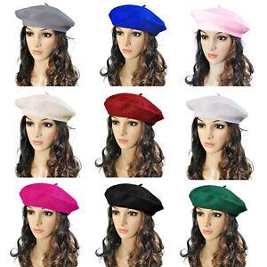 Beret-Chapeau-Imitation-Laine-Bonnet-Automne-et-Hiver-Femmes-Modeles-La-Mode
