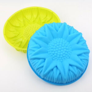 Flower Silicone Cake Pan Mould Baking Tin Pan Home Party