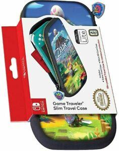Details About Legend Of Zelda Link S Awakening Travel Case Carry Bag For Nintendo Switch Lite