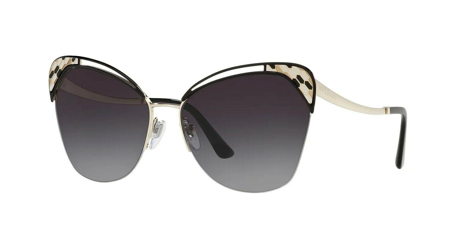 Bvlgari SERPENTI BV 6161 Gold/Grey Shaded (278/8G) Sunglasses
