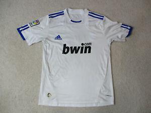 Adidas-Cristiano-Ronaldo-Real-Madrid-Soccer-Jersey-Adult-Small-White-Futbol-Mens