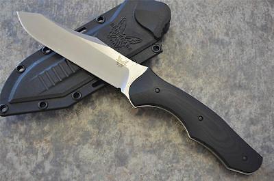 Benchmade 183 Contego Fixed S30V Blade Tactical Knife w/ Kydex Sheath