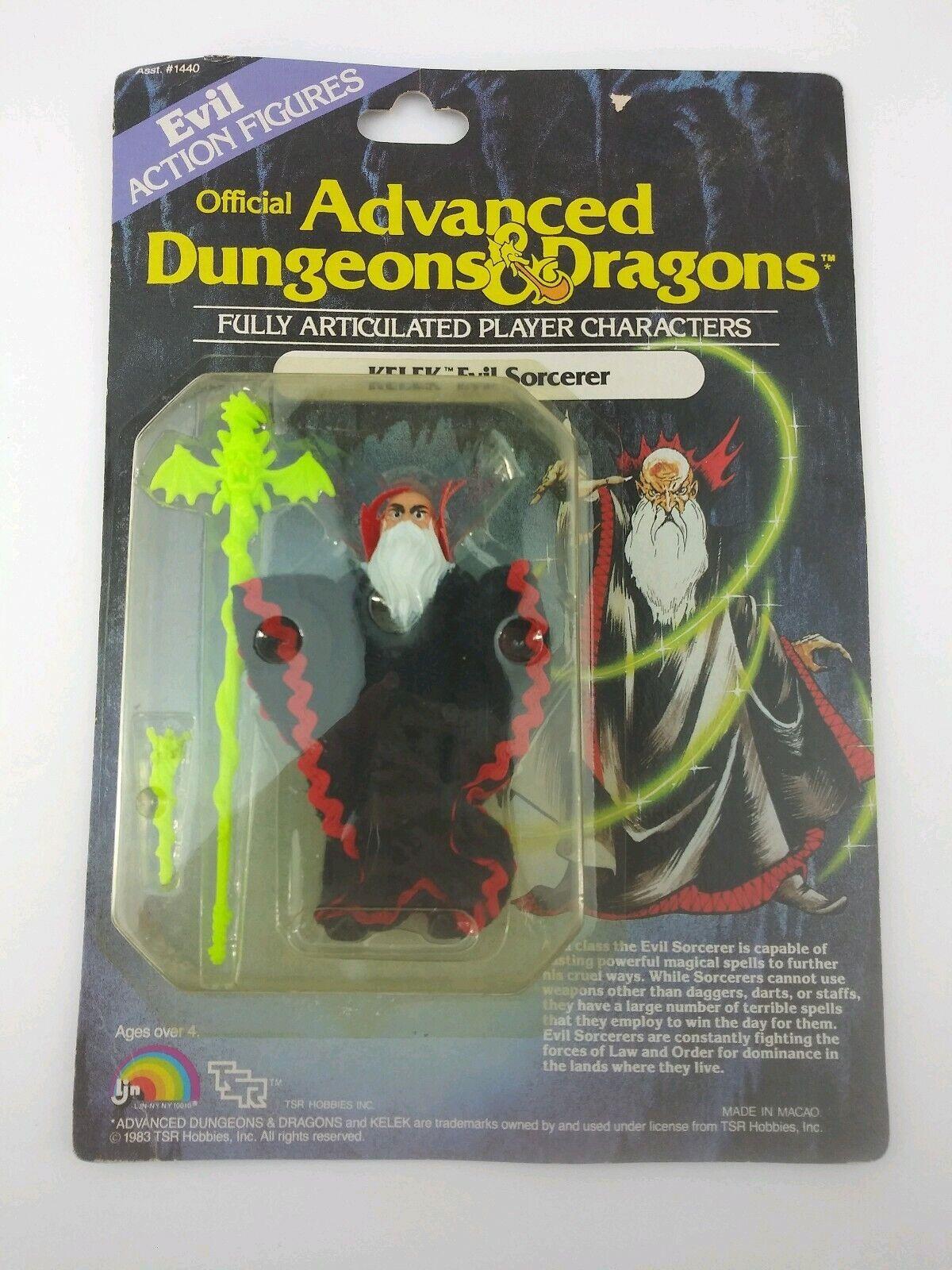 VINTAGE 1983 LJN DUNGEONS AND DRAGONS KELEK EVIL SORCERERMOC001