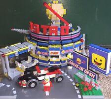Lego Custom Modular Building Benny's Astro Burger Drive In Restaurant
