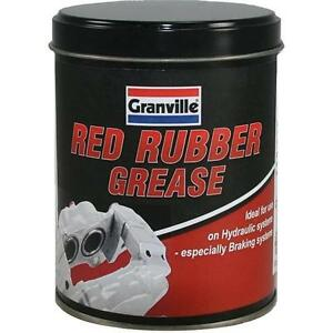 Red Rubber Grease For Brake Caliper Seals & Master Cylinder Granville 500g