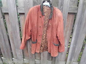 Vera Genuine Made Italy Size Leather Coat Pelle 52 jacket ownedladies In Pre qOTfnxtBU