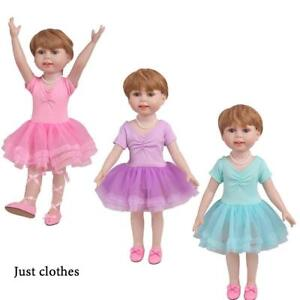 Ballet-Skirt-Tutu-Ballet-Clothes-For-18-Inch-Girl-Doll-Toy-Accessories-DIY