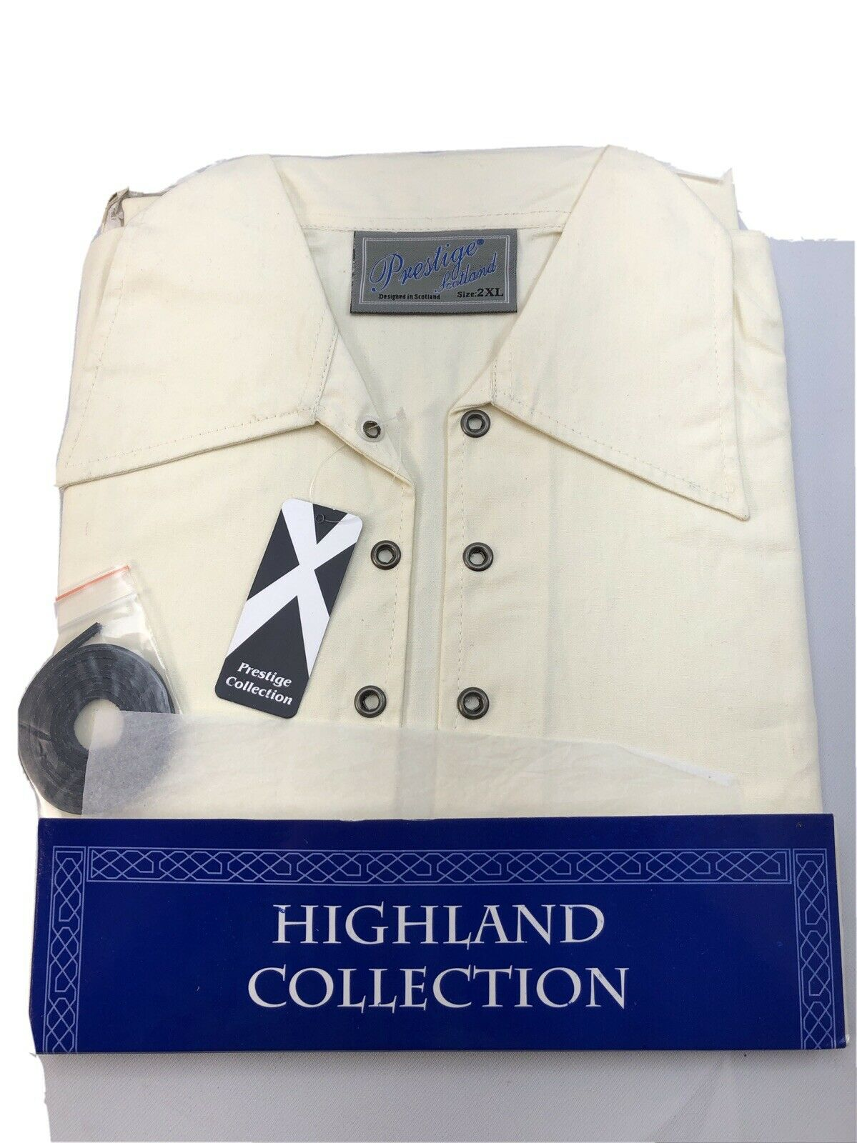 Scottish Deluxe Ghillie Shirt Natural 2XL Clearance