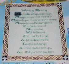 Celtic Wedding Blessing Cross Stitch chart pattern Enchanting Lane Irish