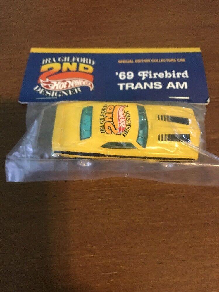 productos creativos Cena 20th Convención Hot Hot Hot Wheels'69 Firebird Trans Am Amarillo Real Riders 1 68  tienda de descuento