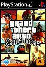 Playstation 2 GTA GRAND THEFT AUTO SAN ANDREAS * Deutsch * Neuwertig