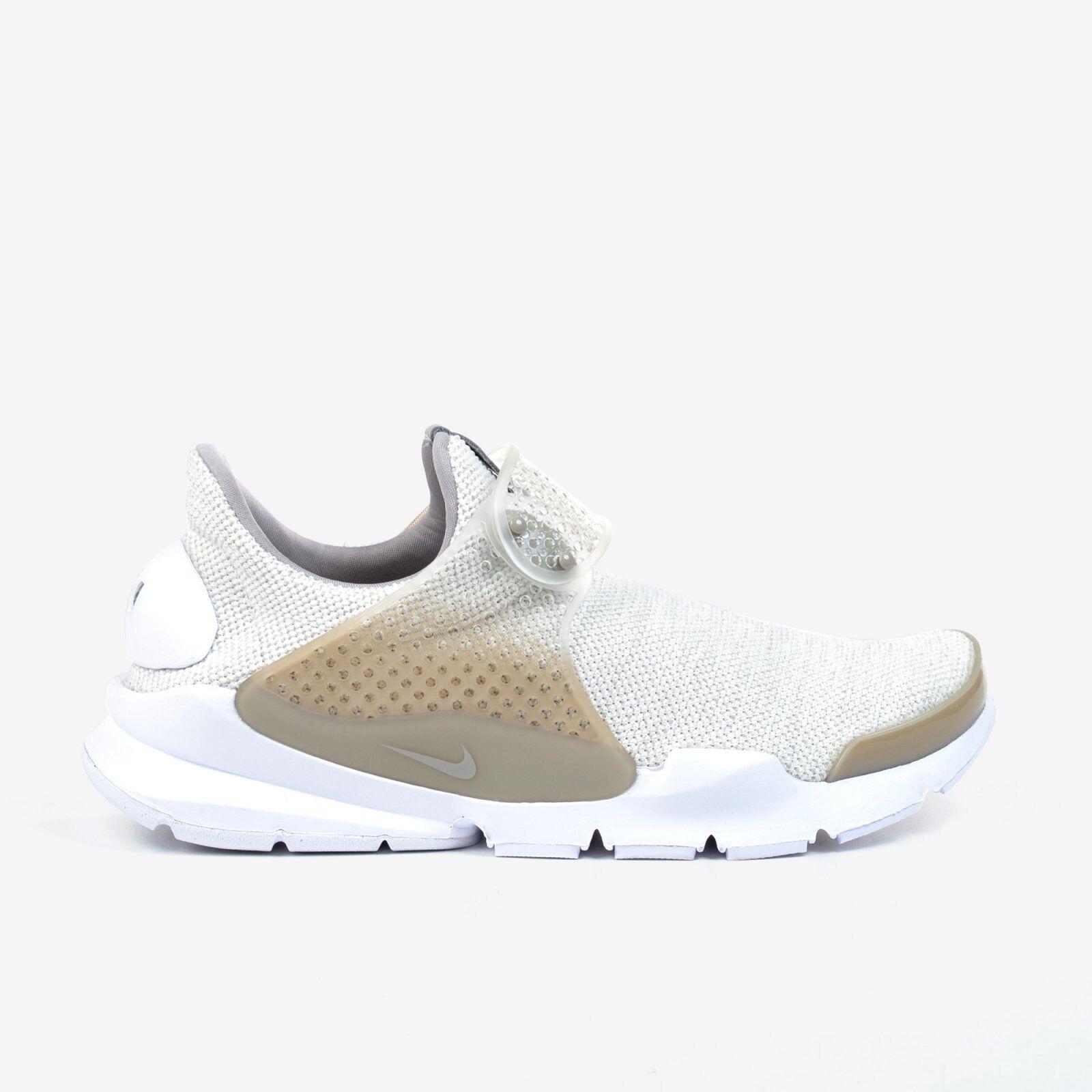 Nike Sock Dart SE Sail White Cobblestone Men's Shoes NIB 911404-100