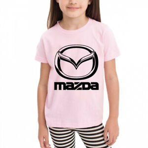 Age-2-6-Kids-Toddler-mazda-Little-Boy-039-s-Girl-039-s-T-Shirts