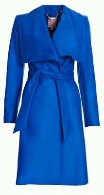 Ted Baker Danita Cashmere Blend Coat Size 3 US 8