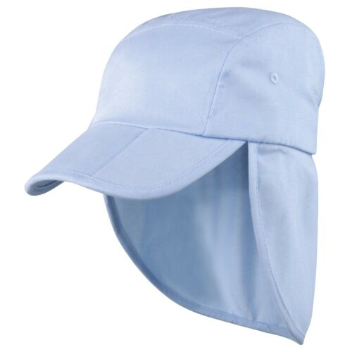 Childrens Sun Legionnaire Hat Cap Kids Junior Childs Neck Flap Protection Kepi