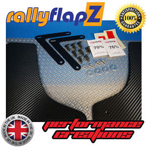 rallyflapz FORD FOCUS RS MK2 (09-11) X4 Bavette Kit 4mm PVC