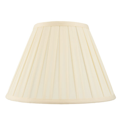 Endon Carla lampshade 12 inch Cream tc fabric 205mm H x 310mm D max.