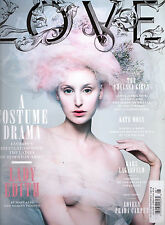 LOVE Magazine 8,Laura Carmichael Downton Abbey ,Rupert Everett,Kate Moss