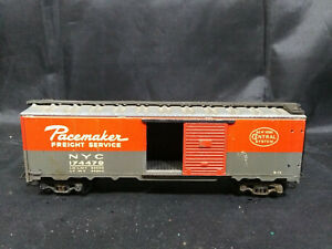 VARNEY-PACEMAKER-FREIGHT-SERVICE-BOX-CAR-NYC-174479-ALL-METAL-HO-SCALE-VINTAGE