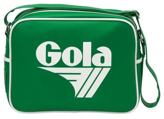 Gola rotford Bag Tasche Schultertasche Schultertasche Schultertasche Grün Weiß Mehrfarbig aa6882
