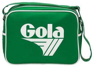 Gola Redford Bag Tasche Schultertasche Grün Weiß Mehrfarbig