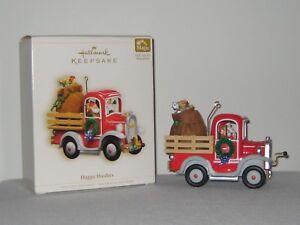 Hallmark-Ornament-HAPPY-HAULERS-MAGIC-SERIES-Truck-NIB