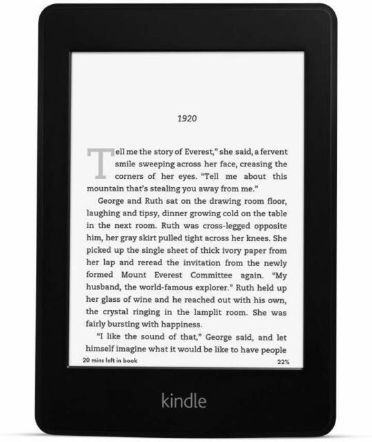 "Kindle Paperwhite Essentials Bundle Including Kindle Paperwhite 6"" E-reader  - for sale online | eBay"