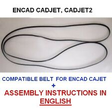 """encad cadjet, cadjet 2 plotter belt size A0 36"""" + INSTALLATION GUIDE IN ENGLISH"""