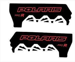 POLARIS RUSH PRO INDY RMK  600 800 PRO R 120 136 SHORT TUNNEL  DECAL STICKER 1