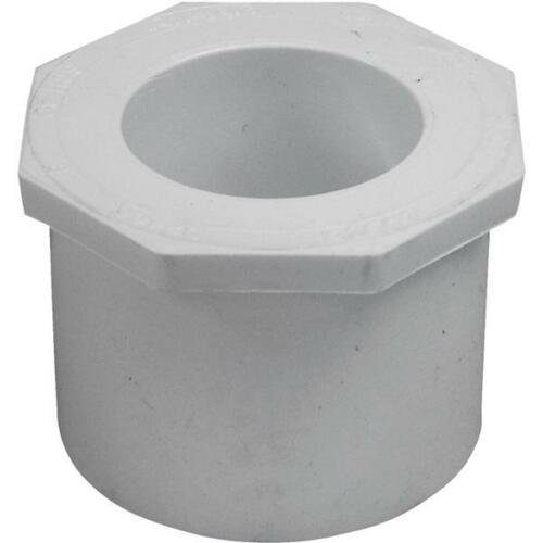 "5-Genova PVC SCH 40 Pipe 2-1//2/"" SPG x 1-1//2/"" Slip Reducing Face Bushing 30291"