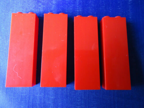 NEW 1 x 2 x 5 RED PILLERS x 4 PART No 2454