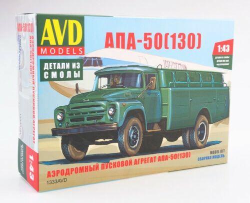 ZIL-130 APA-50 1333AVD AVD MODEL KITS 1:43 New !