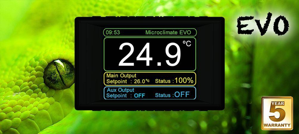 promozioni eccitanti Microclimate EVO EVO EVO RETTILI TERRARIO TERMOSTATO DIGITALE-primo STAT per rettili  vendita calda