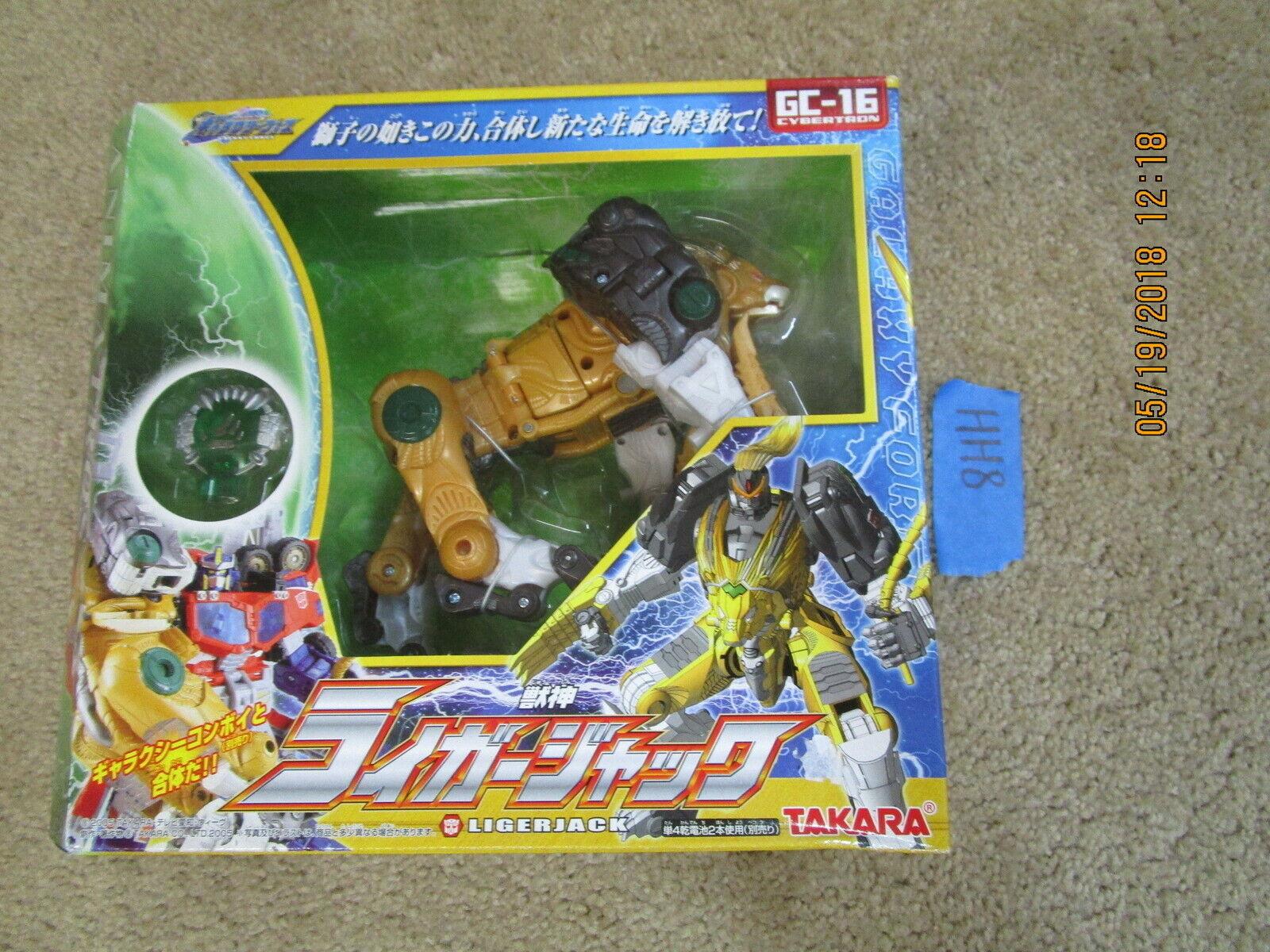 Transformers lotto Cybertron Galaxy Force ligerjack LEOBREAKER GC 16 Nuovo di zecca in scatola sigillata Takara